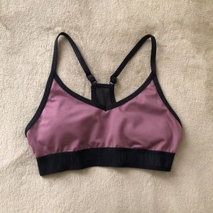 🆕VS PINK S Purple Sports Bra